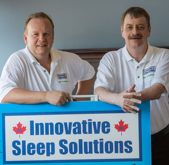Terry and David of Innovative Sleep Solutions