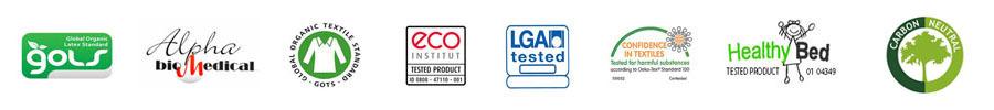 Certified 100% Organic Latex Mattresses