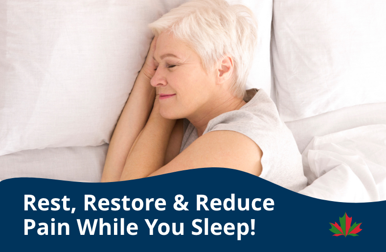 Rest Restore Reduce Pain While You Sleep