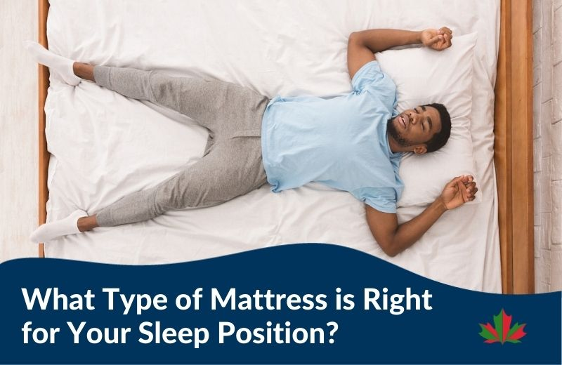What Type of Mattress is Right for Your Sleep Position?